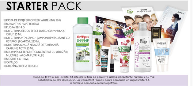 Kit start Pharmasi Cosmetics
